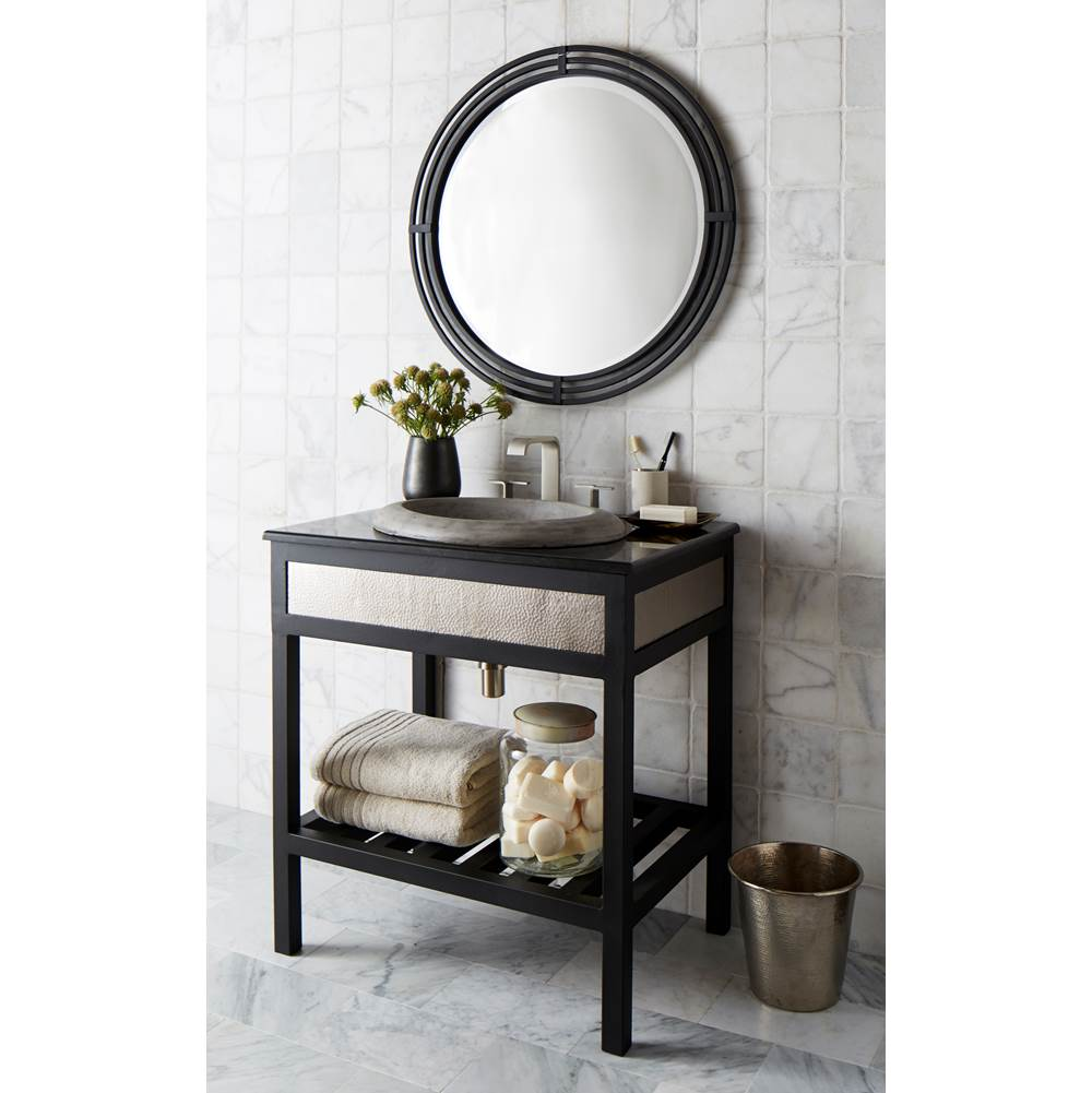 Decorative Brushed Nickel Mirror Native Trails Vnr305 At Decorative Plumbing Distributors