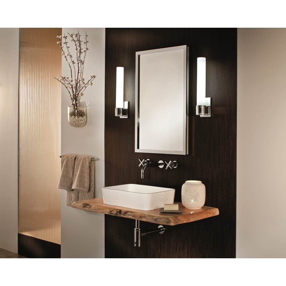 Decorative Brushed Nickel Mirror Glasscrafters Df Bm 1630 Le Pn At Decorative Plumbing Supply