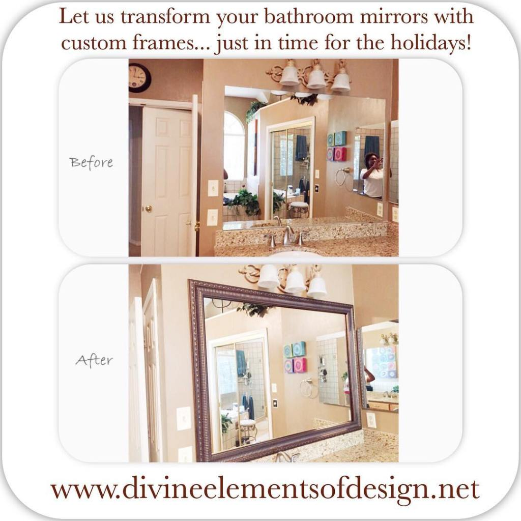 Dont settle for a plain bare mirror Allow us tohellip