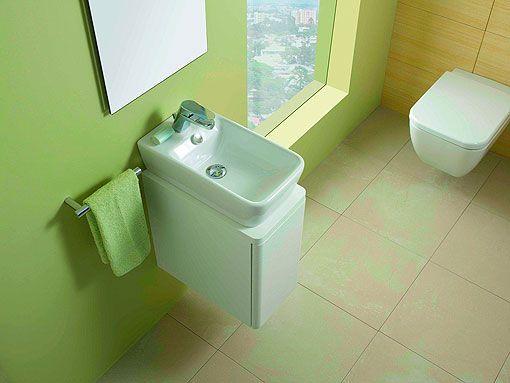 Baños pequeños con ideas y soluciones para sacar partido al espacio - Sanitarios Pequeos