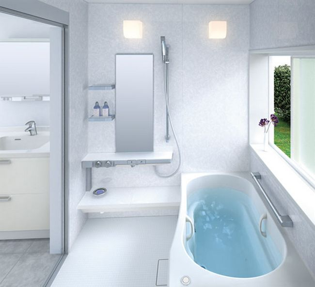 Kleines Badezimmer Waschmaschine Small Bathroom Design: A Selection Of Bright Ideas For You