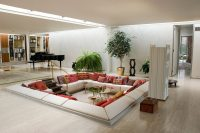 Floor seating ideas: a new and unusual detail in your ...