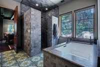 Doorless Walk In Shower Designs Snail Shell   Joy Studio ...