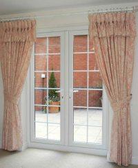 Double Door Curtain Ideas
