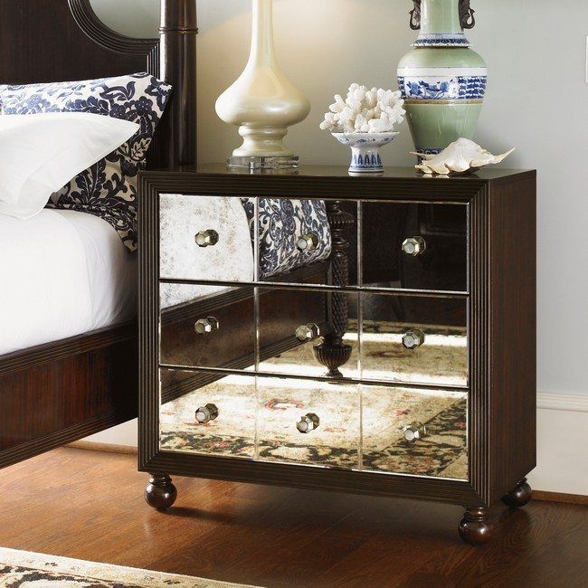Wall Mirror Vintage Style 8 Creative Ideas For Nightstand Alternatives Decor