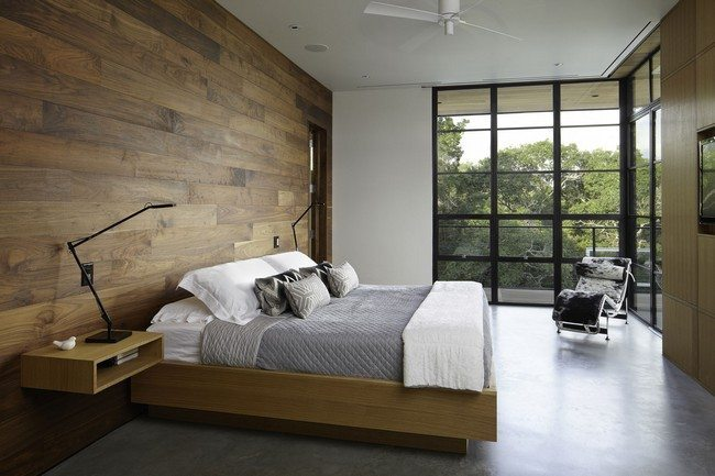 Schlafzimmer Modern Holz Minimalist Bedroom Decorating Styles - Decor Around The World
