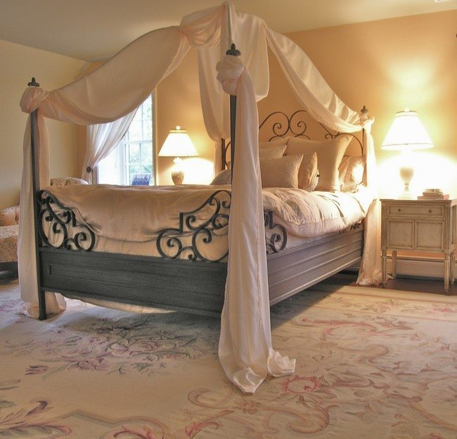 Flower Bed Designs Transforming Your Bedroom Using Luxury Canopy Beds - Decor