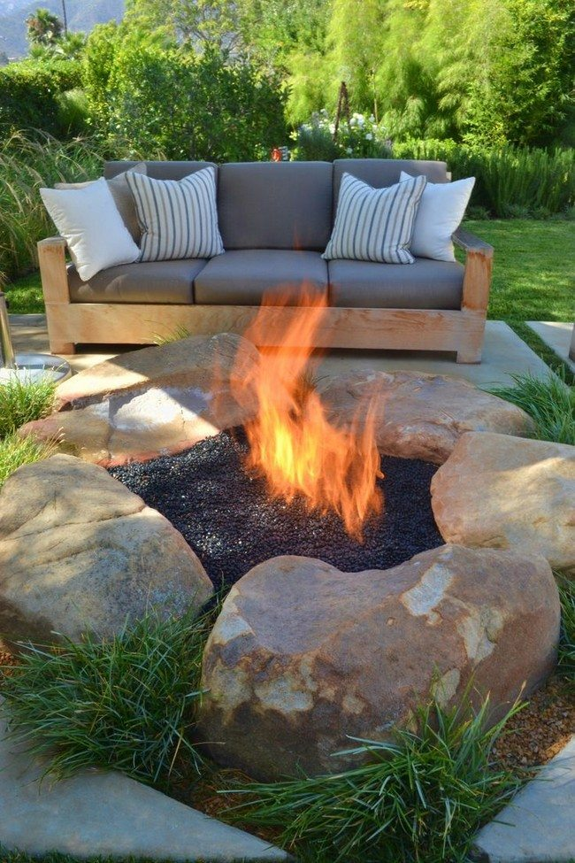 Gas Feuerstelle Outdoor Inspiration For Backyard Fire Pit Designs - Decor Around