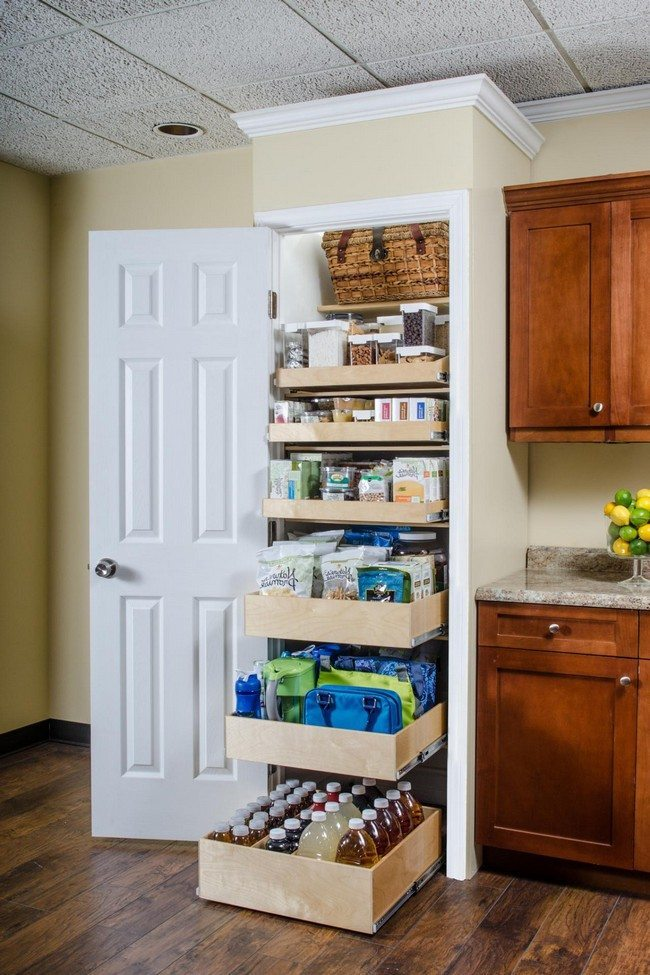 Kitchen Pantry Cabinet Countertop Cookbook Shelf- A Simple Yet Elegant Way To