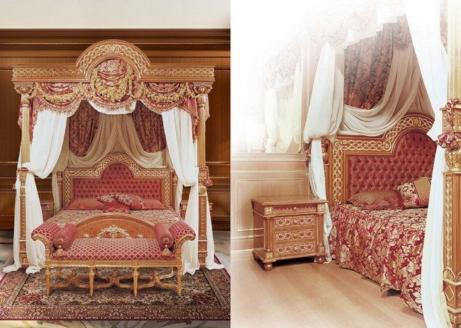 Japanese Themed Decor Transforming Your Bedroom Using Luxury Canopy Beds - Decor