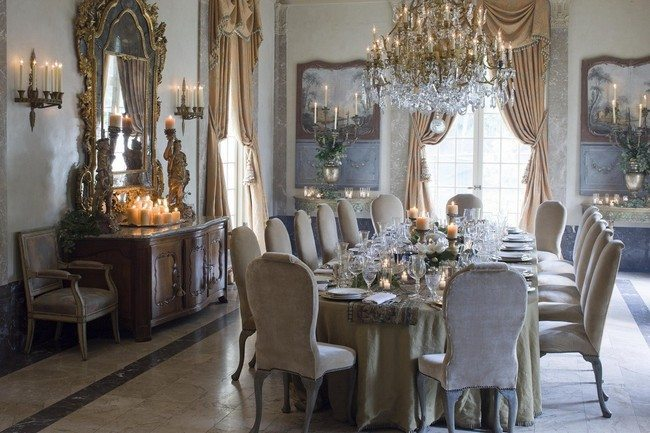 Dining Table Rug Décor For Formal Dining Room Designs - Decor Around The World