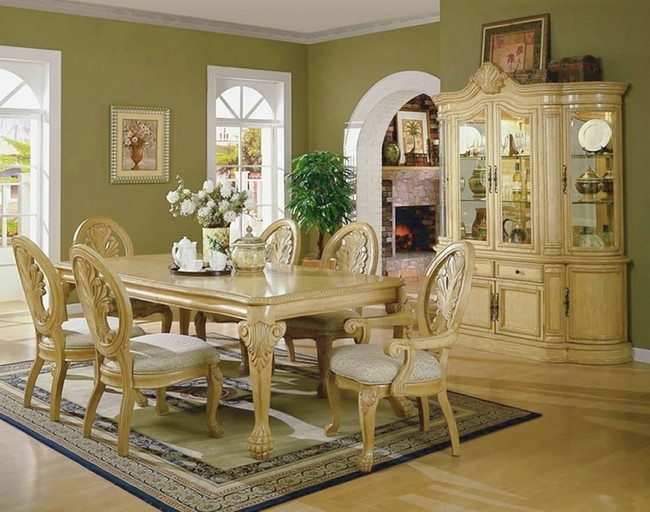 dining table designs in wood