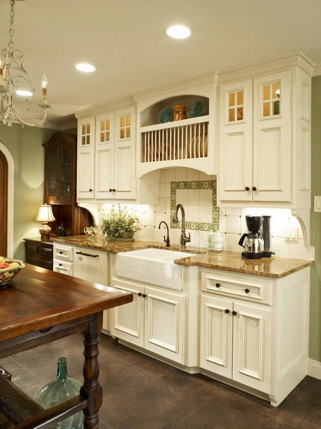 Lighting For Kitchen Island French Country Kitchen Décor - Decor Around The World