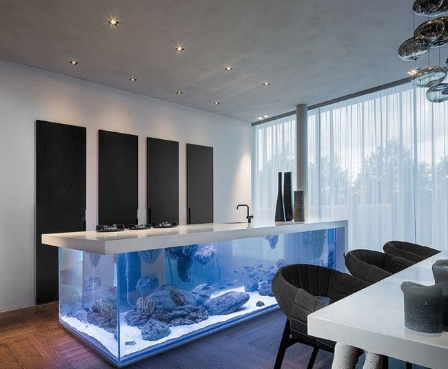 Space Saving Chairs Transform The Way Your Home Looks Using A Fish Tank