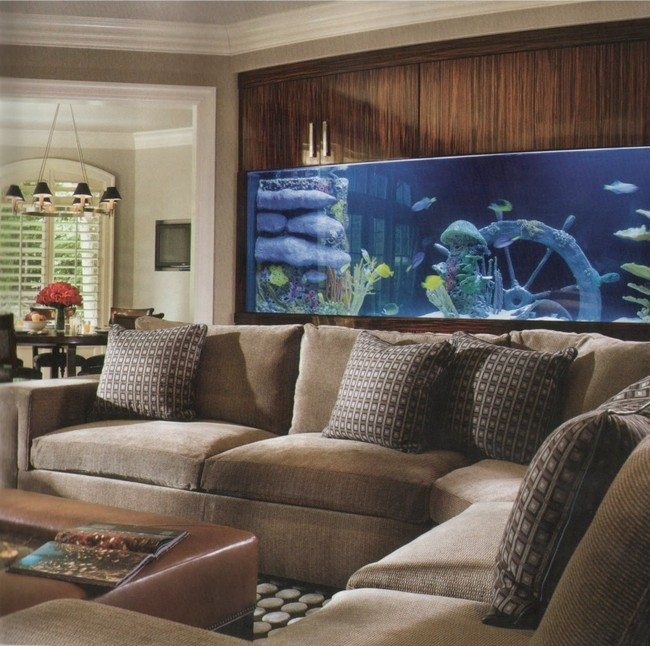 Living Room Decor Pillows Transform The Way Your Home Looks Using A Fish Tank