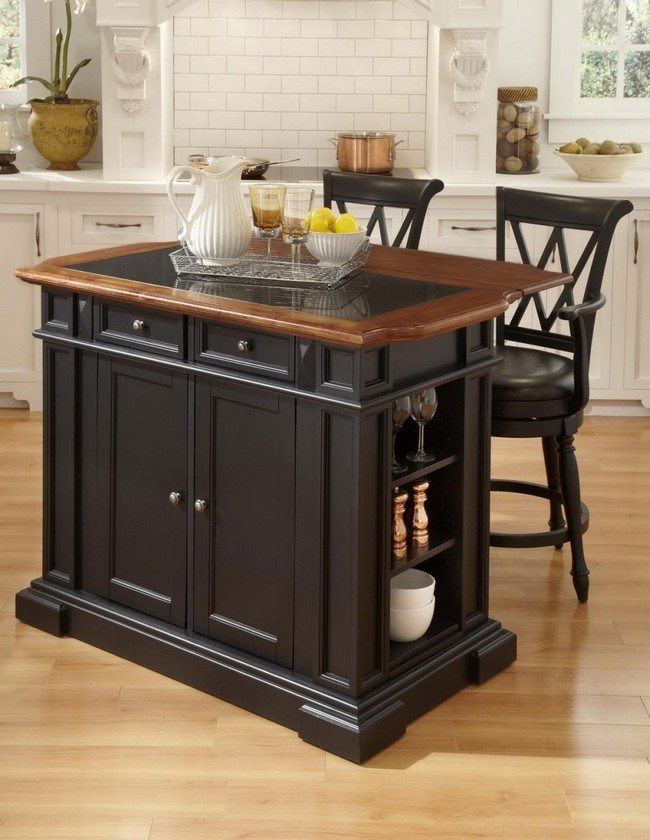 Portable Islands For Small Kitchens Tips On Designing A Home Bar For Your Kitchen - Decor