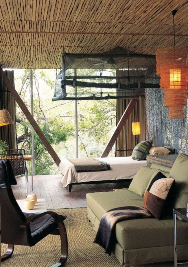 Feel Closer To Nature With These Simple African Interior Design