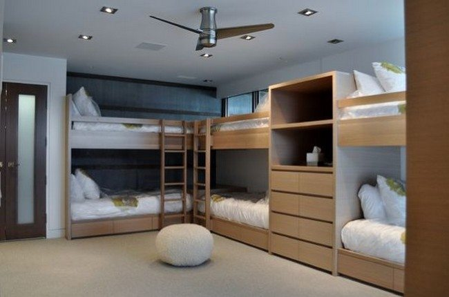 Literas Con Tobogan Para Niños 50 Amazing Contemporary Bunk Bed Ideas - Decor Around The