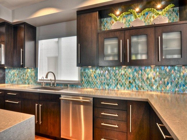 Dark Cherry Cabinets Unique Kitchen Backsplash Ideas You Need To Know About