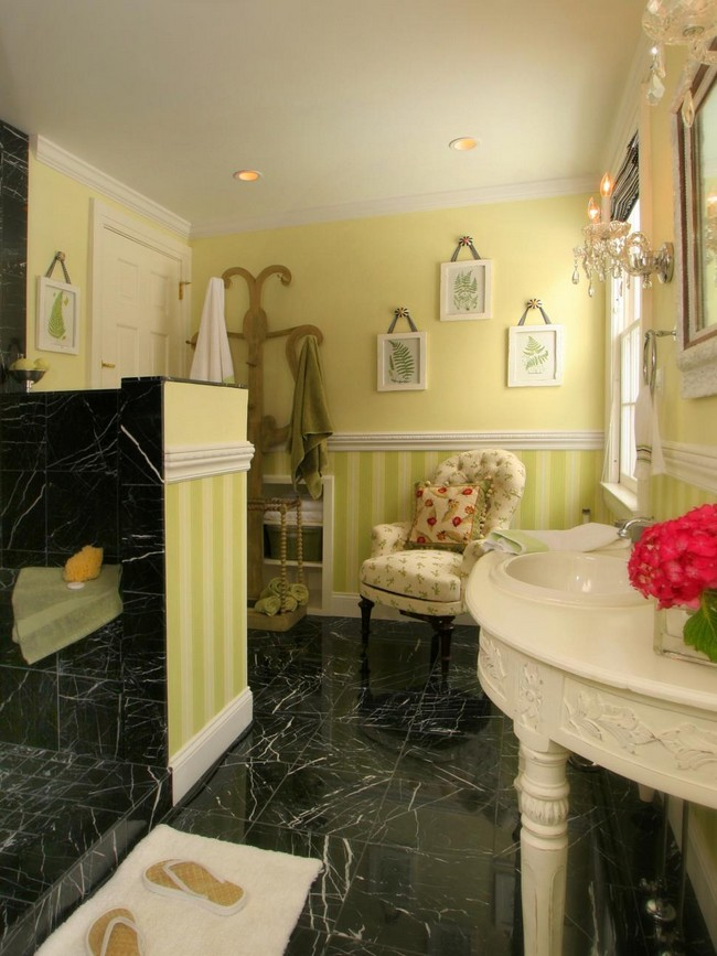Mirror Lighting Bathroom Using Marble In Your Bathroom Design - Decor Around The World