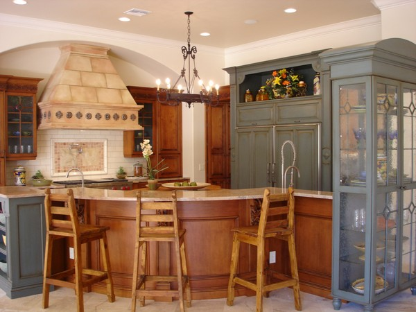 Kitchen With Islands Designs Spanish Style Kitchen - Beautiful Design Ideas You Can