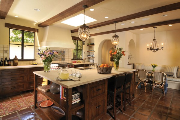 Kitchen Without Backsplash Spanish Style Kitchen - Beautiful Design Ideas You Can