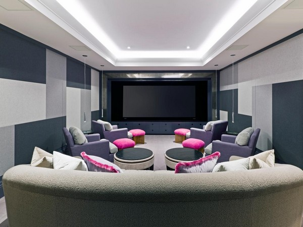 Theater Room Ideas Home Theater Designs: Bring Extravagance To Your Home With