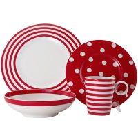 Red Dinnerware | Decor by Color