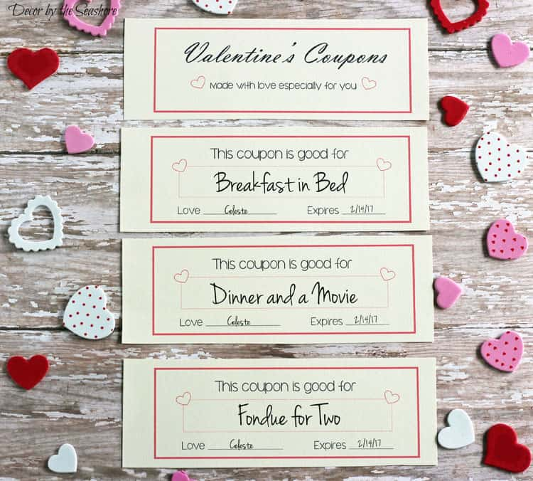 Free Valentine\u0027s Day Coupons - Decor by the Seashore