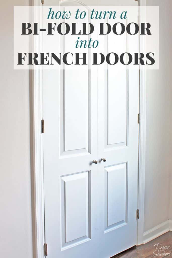 replace sliding door with french doors