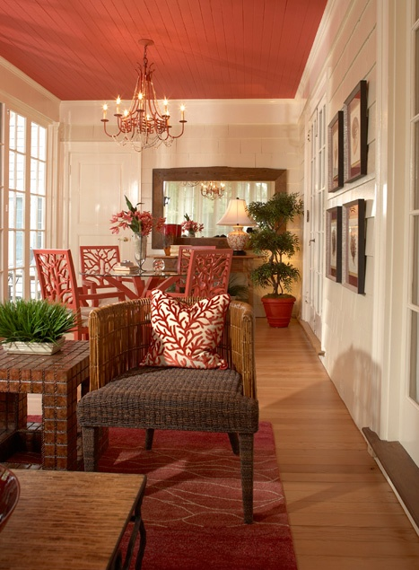 Pretty painted ceiling ideas decorchick 174