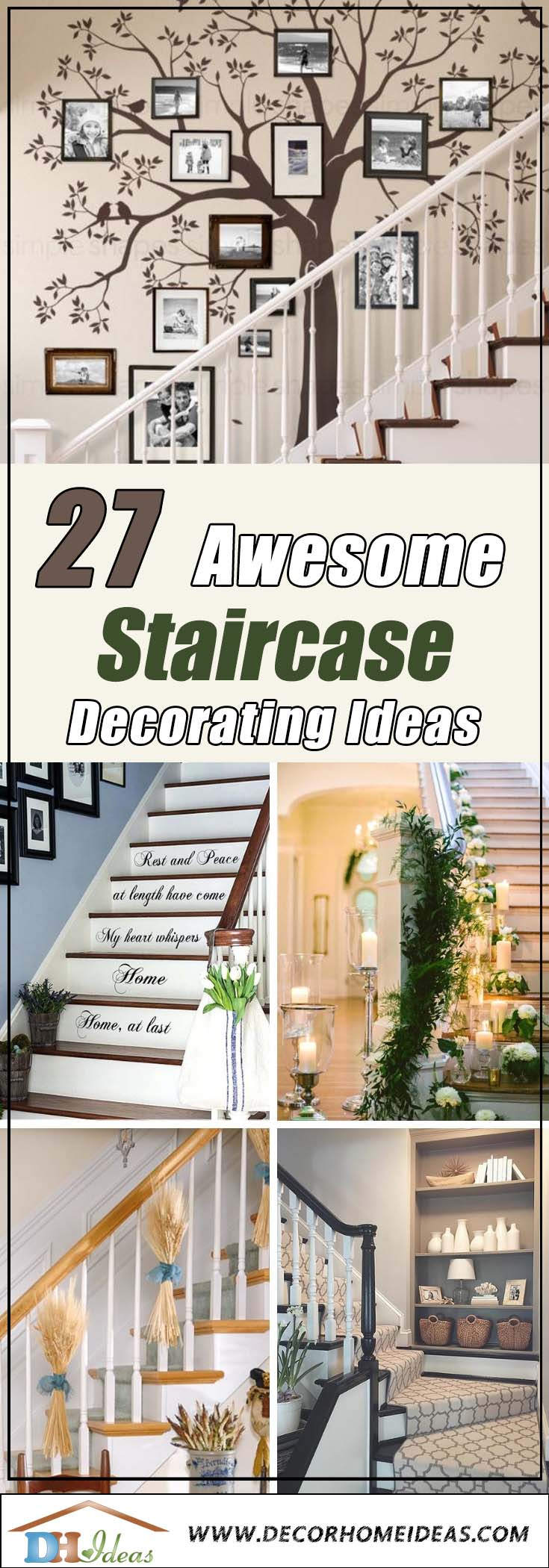27 Awesome Staircase Decorating Ideas Decor Home Ideas