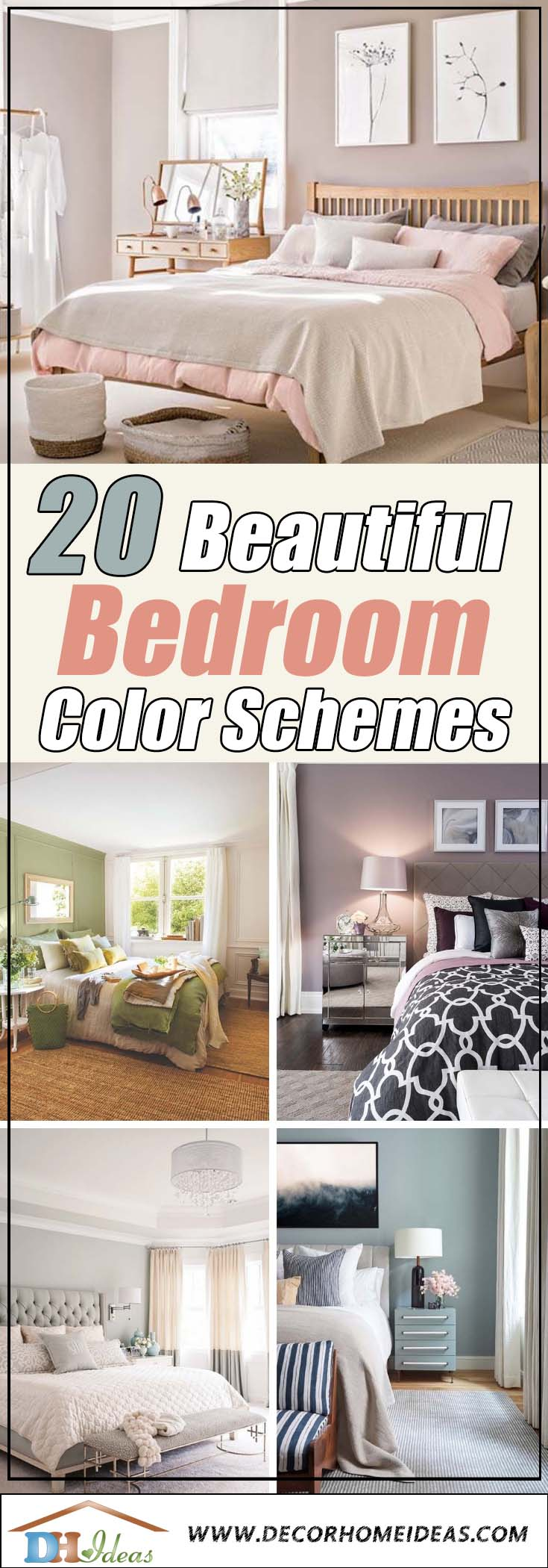 Color Schemes For Rooms 20 Beautiful Bedroom Color Schemes Color Chart Included
