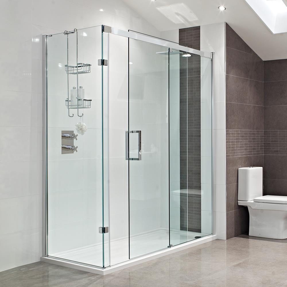 Sliding Glass Doors In Bathroom Interiors