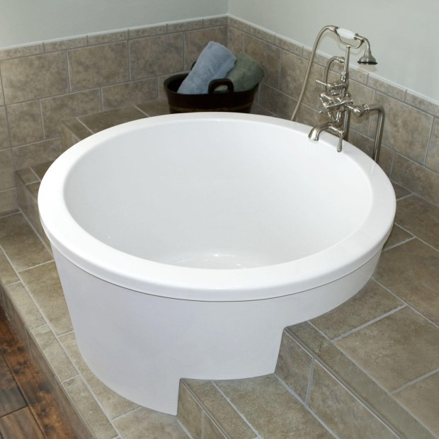 japanese soaking tubs small for bathrooms
