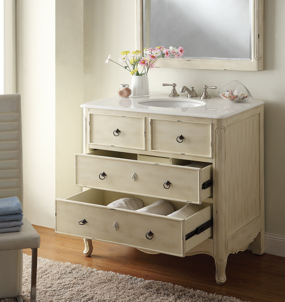retro bathroom vanity units - Vintage Bathroom Vanity