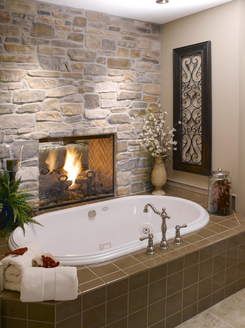 Stone Bathroom Designs The Best Natural Bathroom Stone Tile Decorideasbathroom
