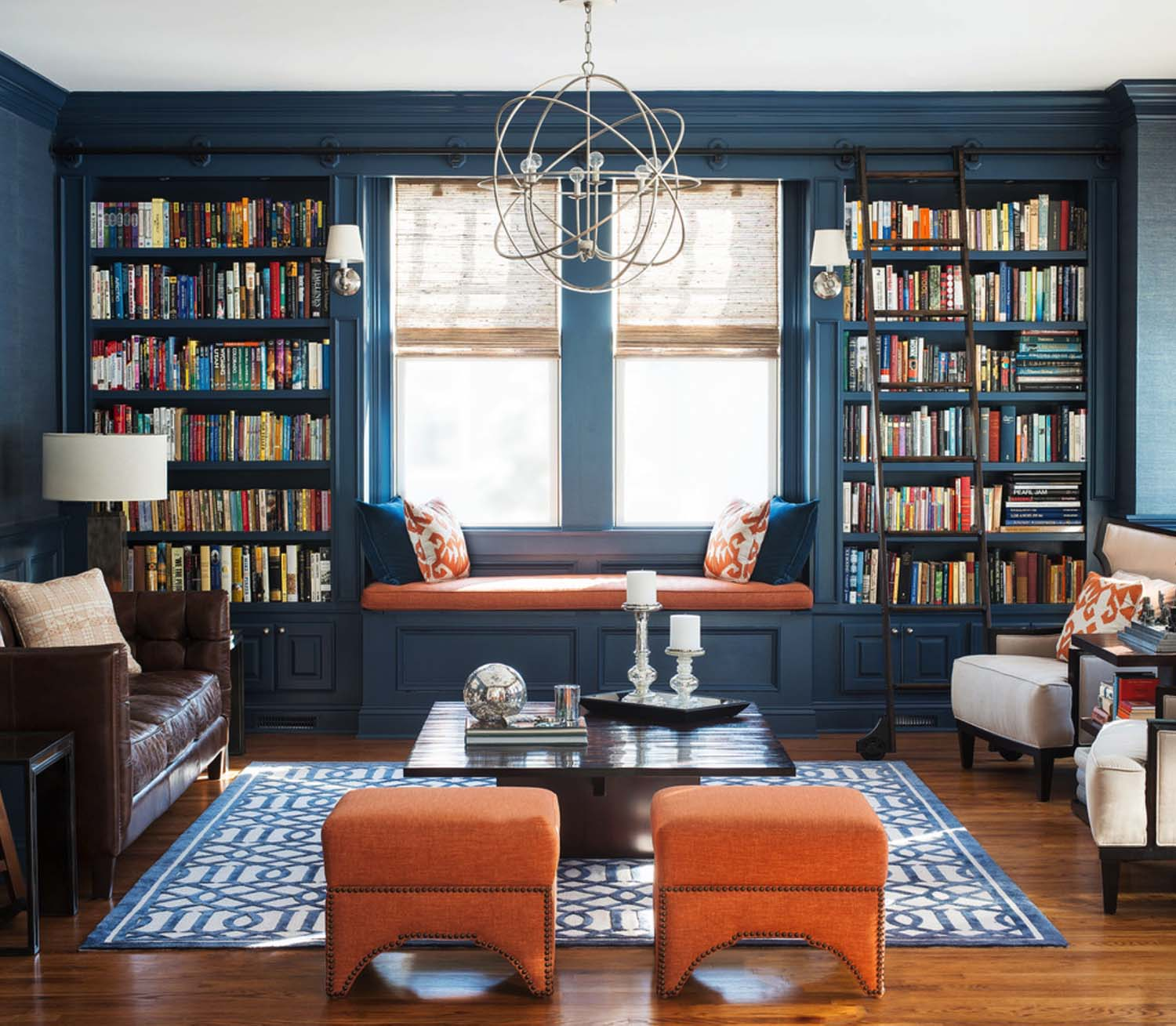 Design Rooms Online Before After Moody Online Library Interior Design Decorilla