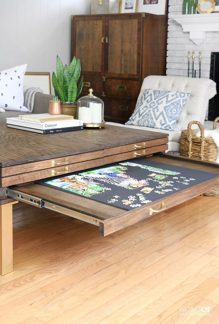 Table Basse Diy Diy Meubles And Relooking Table Basse Diy Avec Pullouts Decoro