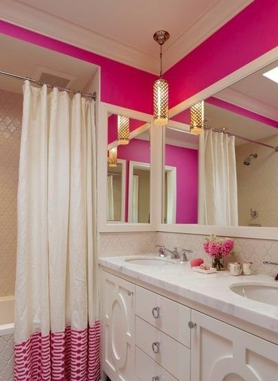 Bathroom Ideas For Kids Pink Bathroom Design Ideas And Photos