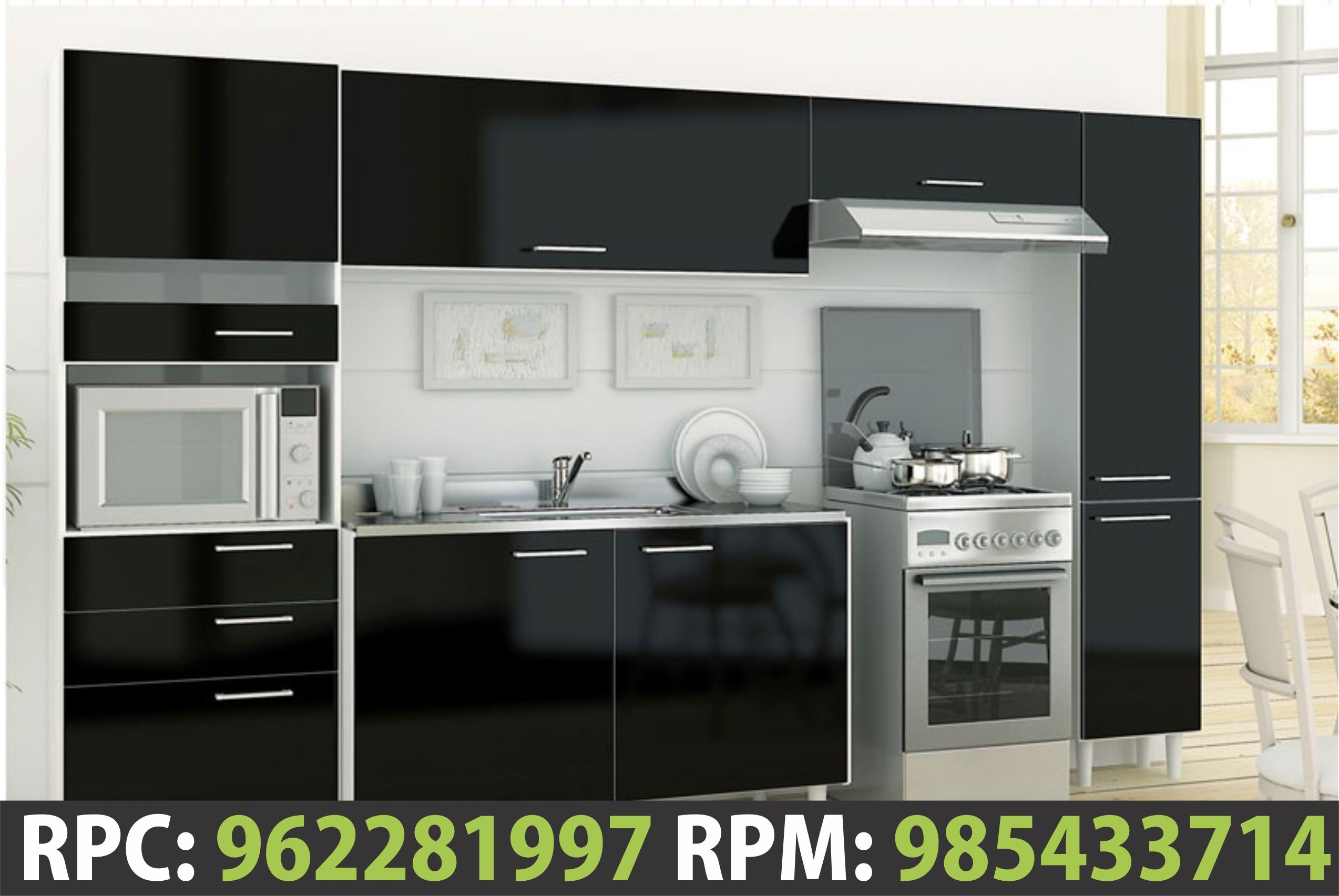 Colores De Muebles De Cocina Modernos | Azulejos Modernos Cocina ...
