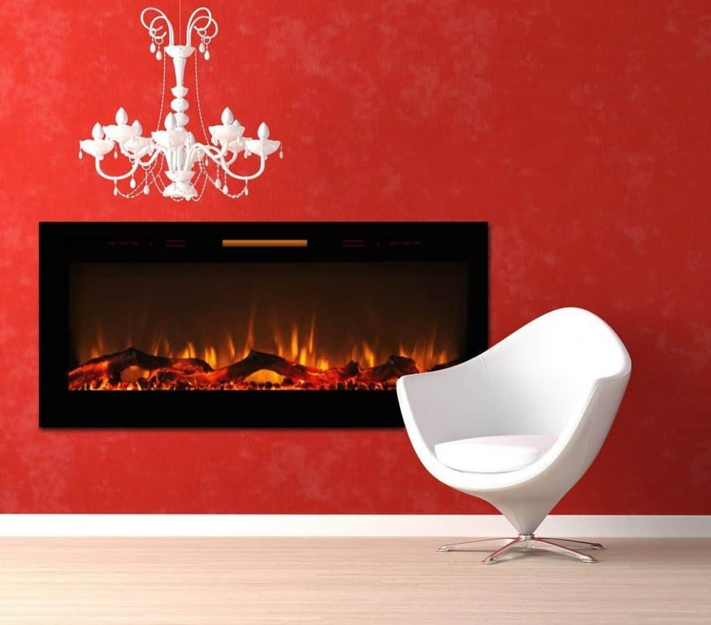 Fireplace Decal Pros And Cons Modern Electric Fireplaces Vs Ethanol