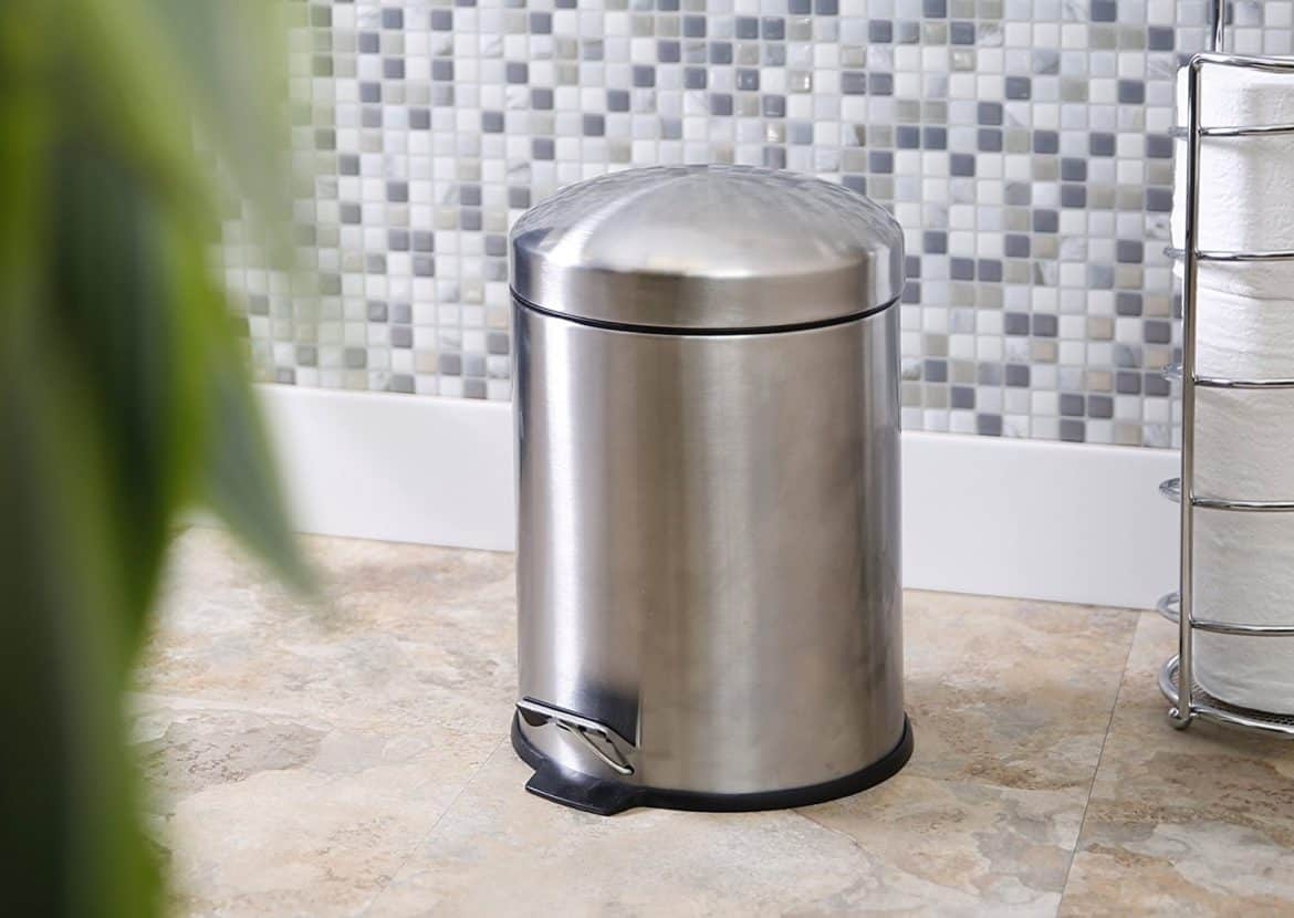 Tall Narrow Trash Can The Best Dog Proof Bathroom Trash Cans Decor Snob