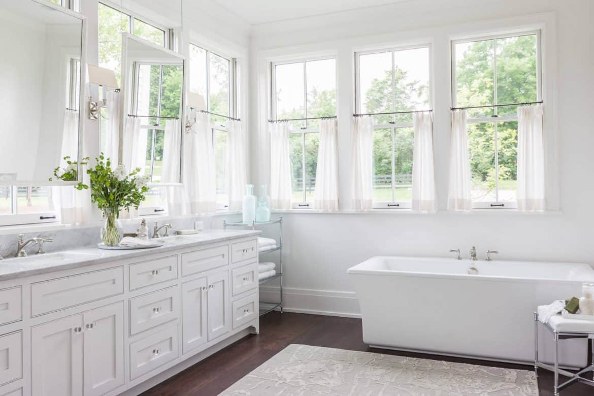 Fenster Bad Tips And Ideas For Choosing Bathroom Window Curtains With