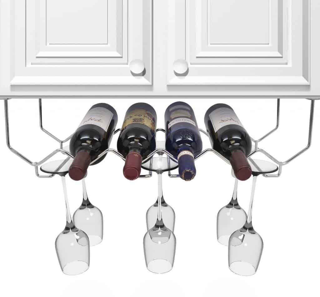 Countertop Wine Glass Holder 100 43 Creative Wine Racks And Wine Storage Ideas Ultimate