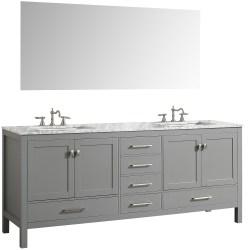 Small Crop Of Grey Bathroom Vanity