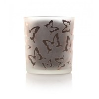 Butterfly Candle Holder Pink - Decorum