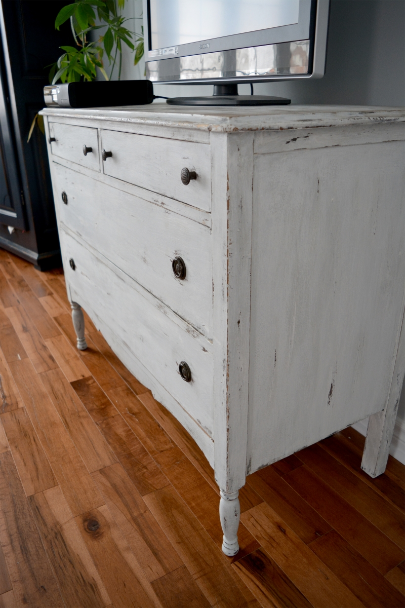 Chambre à Coucher Wood Set Of 2 Bedroom Rustic Shabby Chic Dressers