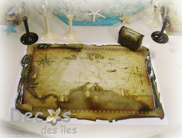 Décoration Pirate Pour Anniversaire Set De Table Pirates Dc-1763