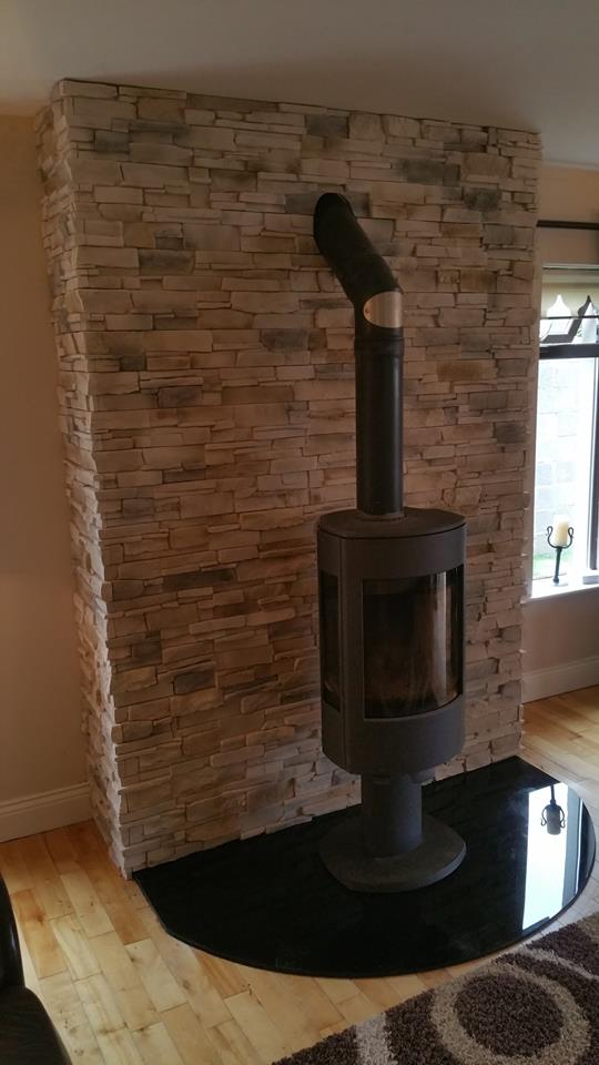 Fake Chimney Grenada Frost - Fake Stone Cladding Tiles -outdoor/indoor
